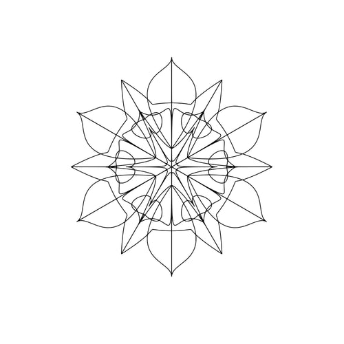 Svg Mandala Geometric Free Cutting Files