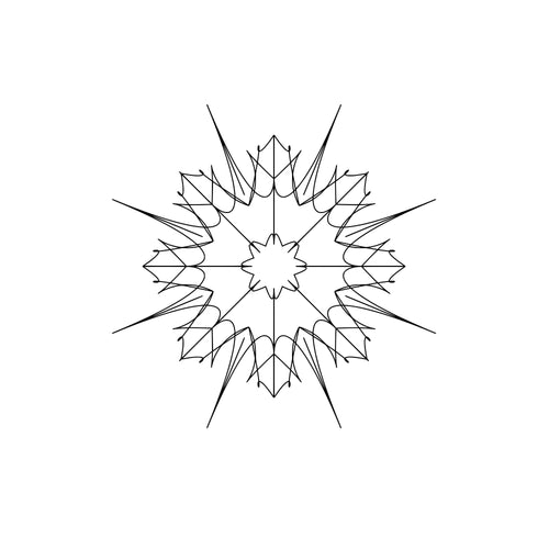 Svg Mandala Monogram Files