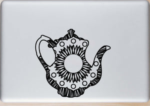 Teapot Silhouette 2 Hot Summer Mandala Designs