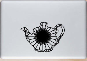 Teapot Silhouette Mandala Animal SVG, PNG, DXF & EPS Cut File Download