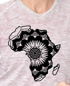 Africa Map Mandala Animals SVG