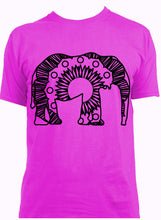 African Bush Elephant Hot Summer Mandala Designs