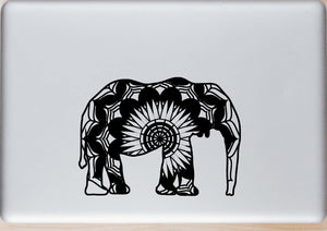 African Bush Elephant Mandala Animals SVG