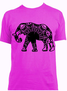 African Elephant Love These Mandala Designs
