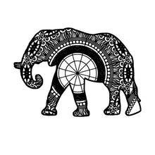 African Elephant Mandala Animal SVG