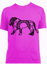 African Lion Hot Summer Mandala Designs