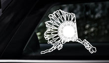 Alaska Map Mandala - Alaska Map Mandala Svg - Alaska Map Animal Mandala Svg - Alaska Map Mandala Monogram