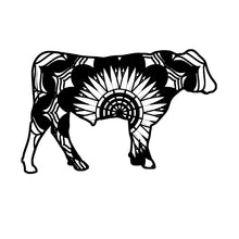 Angus Bull Mandala Animals SVG