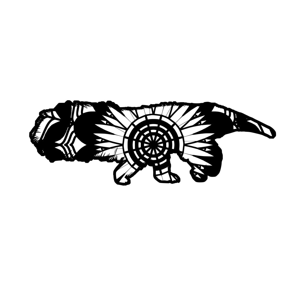 Anteater Mandala Animals SVG