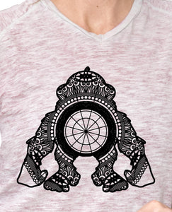 Ape Mandala Animal SVG