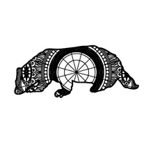 Badger Mandala Animal SVG
