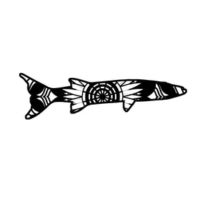 Barracuda Mandala Animals SVG