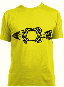 Bass Fish Hot Summer Mandala Designs