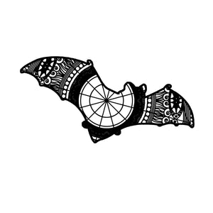 Bat Mandala Animal SVG