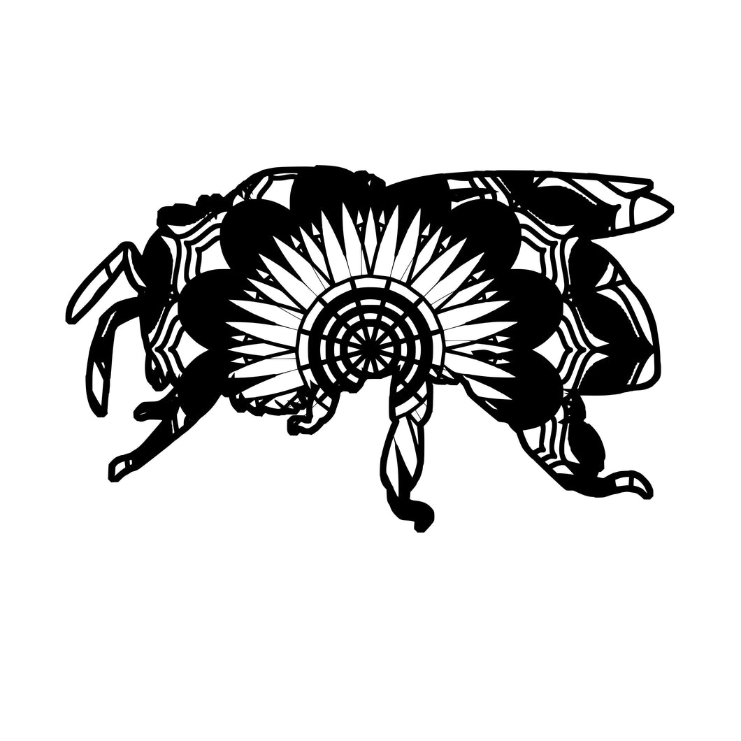 Bee Mandala Animals SVG