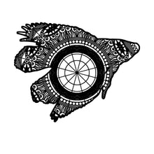 Betta Fish Mandala Animal SVG