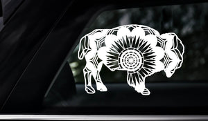 Bison Mandala Animals SVG