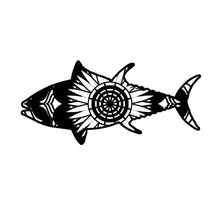 Bluefin Tuna Mandala Animals SVG