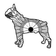Boston Terrier Mandala SVG