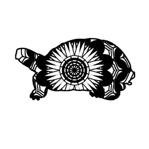Box Turtle Mandala Animals SVG