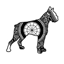 Boxer Dog Mandala Animal SVG