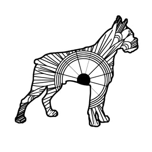 Boxer Dog Mandala SVG