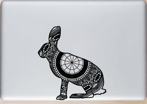 Brown Hare Mandala Animal SVG