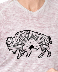 Buffalo Mandala SVG