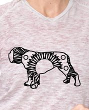 Bulldog Hot Summer Mandala Designs