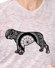 Bulldog Mandala Animal SVG