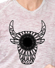 Bulls Head Mandala - Bulls Head Mandala Svg - Bulls Head Animal Mandala Svg - Bulls Head Mandala Monogram