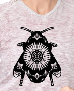 Bumblebee Mandala Animals SVG