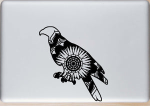 Buzzard Mandala Animals SVG