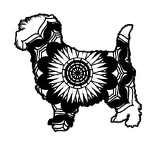 Cairn Terrier Mandala Animals SVG