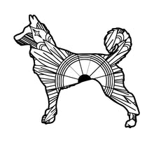 Canaan Dog Mandala SVG
