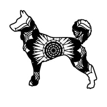 Canaan Dog Mandala Animals SVG