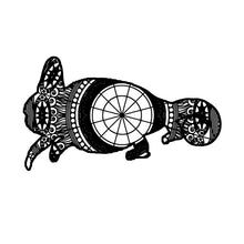 Chameleon Mandala Animal SVG