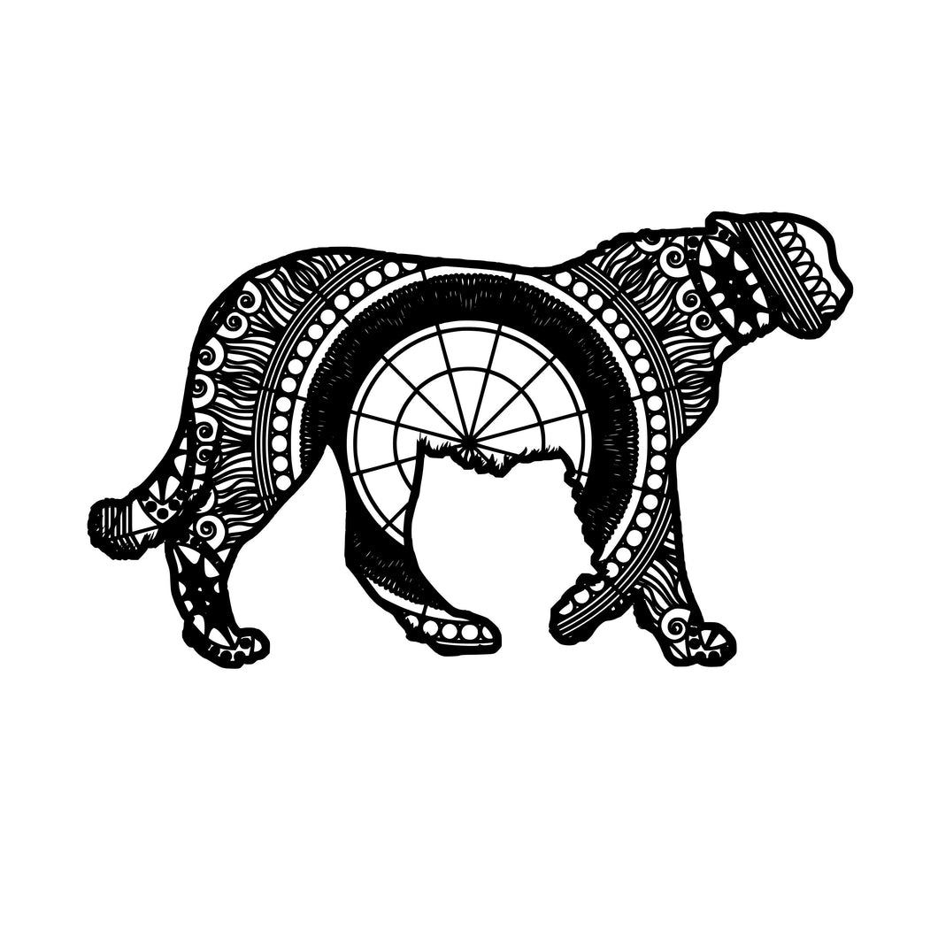 Cheetah Mandala Animal SVG