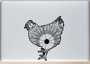 Chicken Mandala SVG