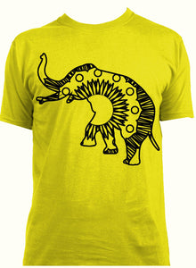 Circus Elephant Hot Summer Mandala Designs
