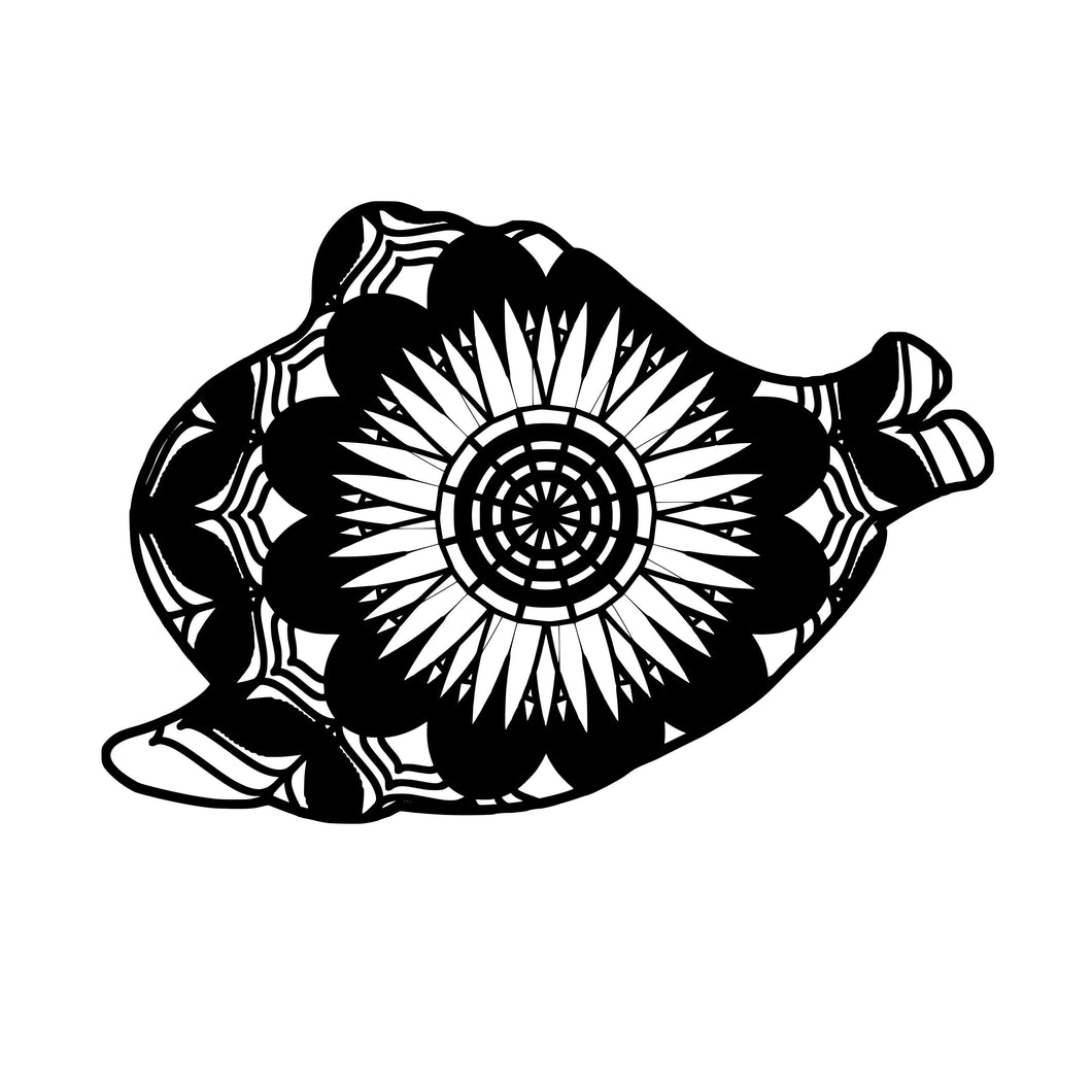 Clam Mandala Animals SVG