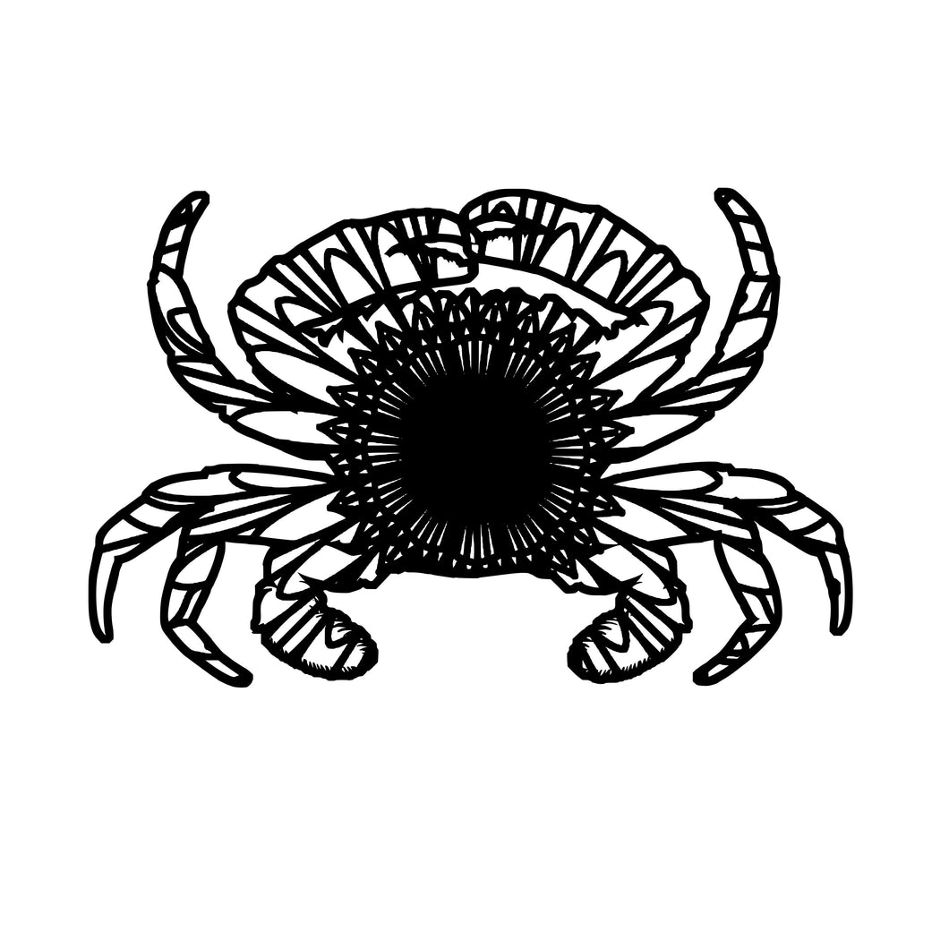 Crab Mandala - Crab Mandala Svg - Crab Animal Mandala Svg - Crab Mandala Monogram