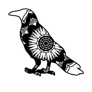 Crow 1 Mandala Animals SVG