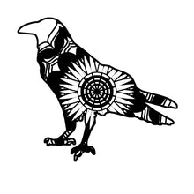 Crow Mandala Animals SVG