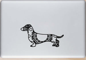 Dachshund Hot Summer Mandala Designs