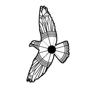 Dove Flying Mandala SVG