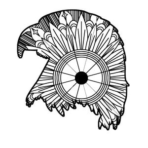Eagle Head Mandala SVG
