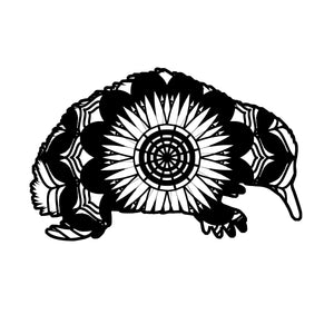 Echidna Mandala Animals SVG