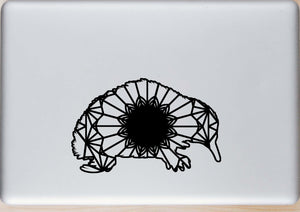 Echidna Mandala Animal SVG, PNG, DXF & EPS Cut File Download