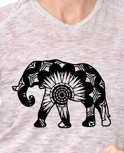 Elephant Mandala Animals SVG